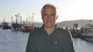 Seaside artisan … Stan Soroka of Eden Smokehouse.