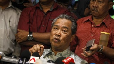 Former deputy prime minister Muhyiddin Yassin was sacked last week.