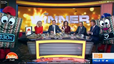 Channel Nine denies 'scam' after Today gives away $130,000 Block of Cash
