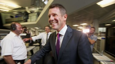 NSW Premier Mike Baird says smart motorway technology will make the M4 quicker and safer to drive on.