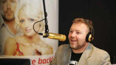 Famous faces ... the merged Hit Music Network has shows featuring stars such as Kyle Sandilands. Photo: Quentin Jones