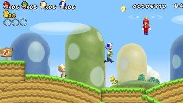 New Super Mario.