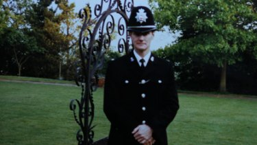 Killer ... Des Campbell in the Surrey Police.