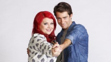 In step: Melissa Bergland and Nick Russell of the new season of Winners & Losers on Seven.