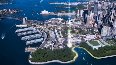A world-class hub: There is high demand for mixed use space around Barangaroo North.
