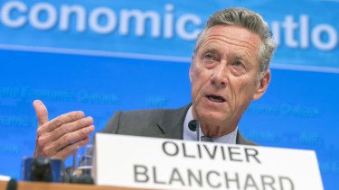 ''The world economy is facing strong and complex cross currents,'' IMF's chief economist Olivier Blanchard says.