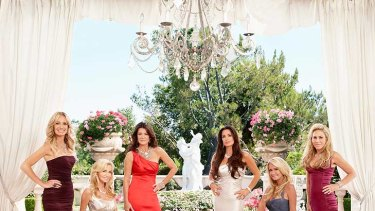 The cast of The Real Housewives of Beverly Hills.