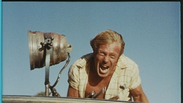 Still from WAKE IN FRIGHT, 1971.A digital re-release is planned for June 2009. Jack Thompson (Dick). Pic supplied by madman.com.au