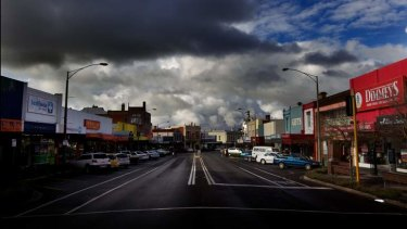 Ararat's main street. The town already prison and a facility for serious sex offenders.
