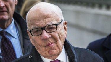 Big payday: Rupert Murdoch.