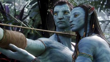 Big, blue and a box office monster … Avatar is breaking records.