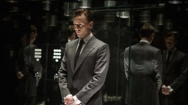 Tom Hiddleston as the sadistic Dr Robert Laing in