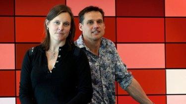Dr David Corlett and Maree Crabbe.