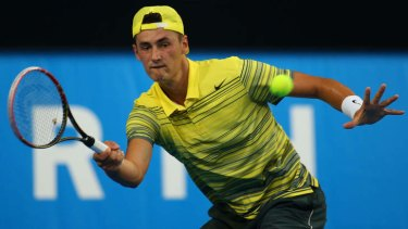 """""""I'm the sort of guy that needs that extra energy to lift and when I play in Australia, I have that"""": Bernard Tomic."""