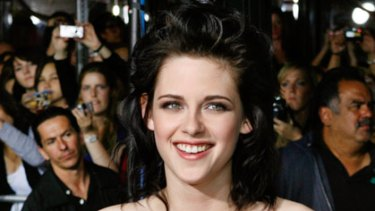 Paparazzi prey ... Twilight star Kristen Stewart.