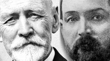 School of life ... two members of the first Federal Parliament in 1901: Sir Joseph Cook, a former miner and Chris Watson, a former printer.