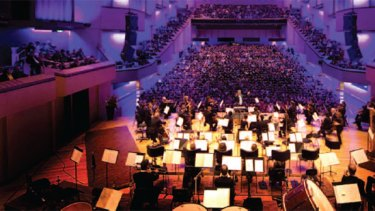 The Queensland Symphony Orchestra.