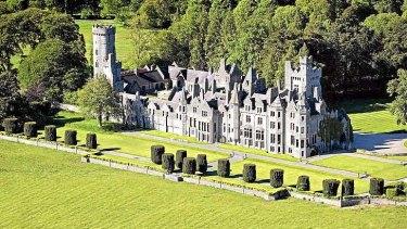 Humewood Castle in Kiltegan, County Wicklow, bought by Liberty Global  boss John Malone for a bargain €8 million.