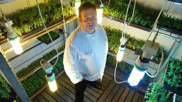 Going bush ... Top Chef Peter Gilmore of Quay Restaurant.