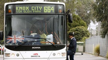 The government has launched a worldwide tendering process for Melbourne's bus service.