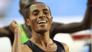 Olympic champion Kenenisa Bekele.