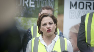 Deputy Premier Jackie Trad is investigating funding options for Brisbane's Cross River Rail project.