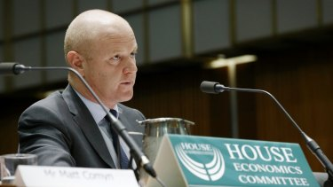CBA's Ian Narev. According to Austrac, the bank allegedly missed about  50,000 suspected money-laundering transactions of about $625 million.