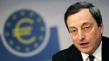 President of the European Central Bank, Mario Draghi.