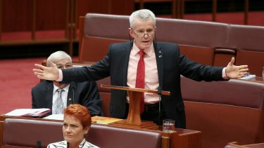 Is Senator Malcolm Roberts already operating in a closed loop?