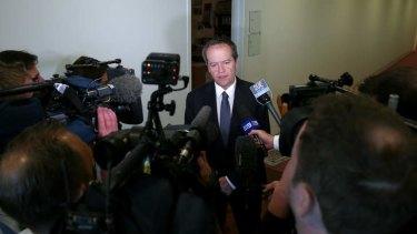Opposition Leader Bill Shorten has backed Nova Peris despite the allegations.