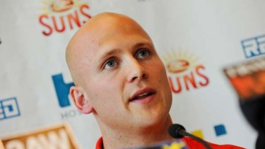 Gary Ablett announces he has signed with the Gold Coast Suns on the 29th of September.
