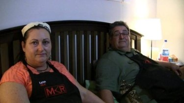 Gutted doesn't even begin to describe how Lynn and Tony are feeling after their MKR home restaurant.