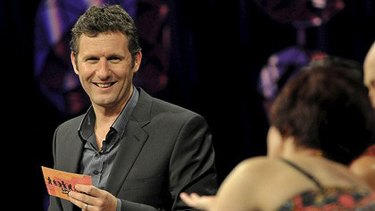 Spicks and Specks host Adam Hills.