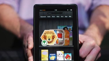 Challenging the iPad ... The new Amazon tablet.