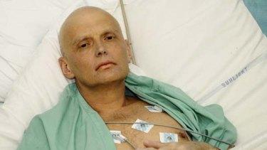 Poisoned ... Alexander Litvinenko.