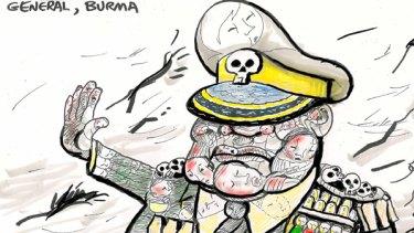 Burma general