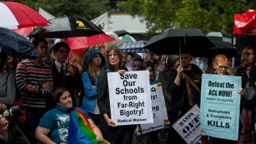 The Safe Schools program has come under fire from some conservative MPs and the Australian Christian Lobby.