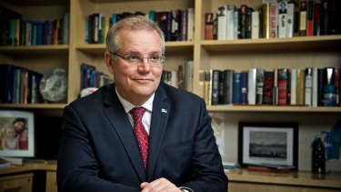Scott Morrison said the staff had allegedly coached detainees to invent stories to discredit the government's border policies.