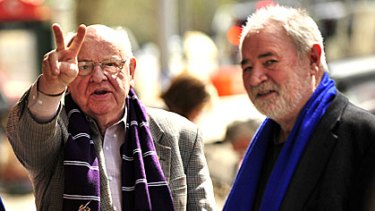 Father Bob Maguire and Les Twentyman see themselves as 'circuit breakers'.