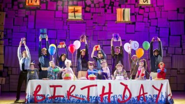 Celebration ... <i>Matilda</i> conjures up a sense of wonder and fun.