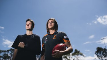 Logan Austin and Jack Steele could play against each other for the first time when the Giants take on Port at Manuka Oval next year.