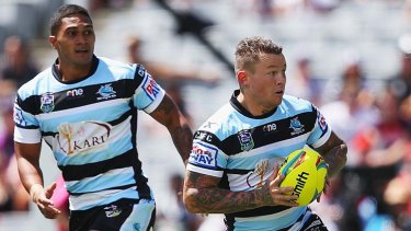 Among the casualties: Todd Carney (right).