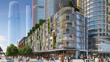 Hot topic: Debate surrounds the development of the Barangaroo site.