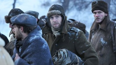 Based on a true story ... Jim Sturgess in a scene from <i>The Way Back</i>.