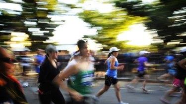 Thirst prize ... the Canberra Marathon.