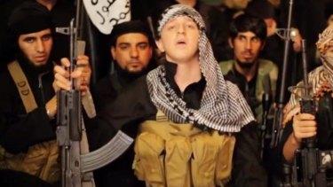 Abdullah Elmir, 17, specifically named Prime Minister Tony Abbott in the Islamic State video online.