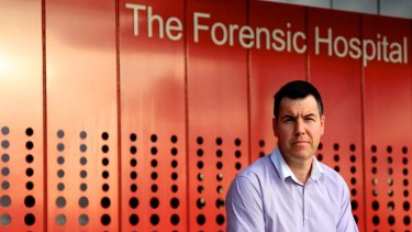 Complex cases ... Dr Adrian Keller, the clinical director of The Forensic Hospital in Malabar.