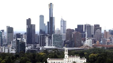 Under the plan, Melbourne's skyline will look a lot busier.