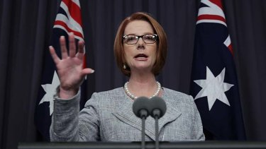 Forging a relationship with China on new terms: Prime Minister Julia Gillard.