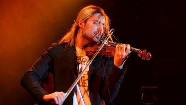 Changing his tune ... concert violinist David Garrett.